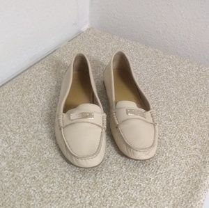 Coach Federica Pebbled Leather Loafers